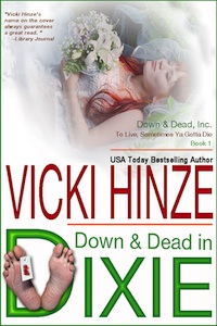 Down and Dead in Dixie, vicki Hinze, clean read