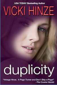vicki hinze, duplicity, clean read