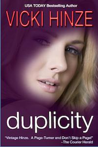 vicki hinze, duplicity, clean read